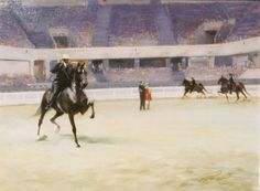 ACROSS THE RING by James L. Crow | American Saddlebred Museum 2006 Auction