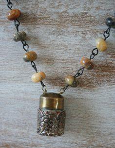 salt shaker necklace