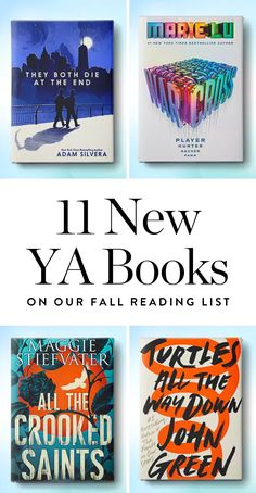 11 New YA Books We're Putting on Our Fall Reading List via @PureWow