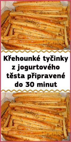 Slovak Recipes, Czech Recipes, Cooking Tips, Cooking Recipes, Healthy Recipes, Bread And Pastries, Great Appetizers, Lunch Snacks, Christmas Baking
