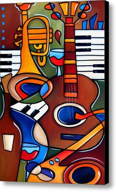 Jam Session By Fidostudio Canvas Print / Canvas Art By Tom Fedro - Fidostudio