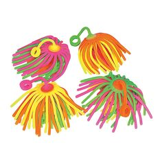PART OF puff puff puffball. Large+Neon+Stretchy+Noodle+Ball+Yo-Yos+-+OrientalTrading.com