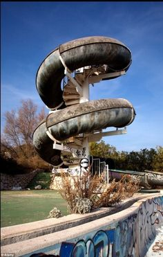 #Abandoned water park ride #waterparks #waterpark