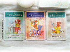 Les cartes Oracles La Sagesse du Fou de Sonia Choquette