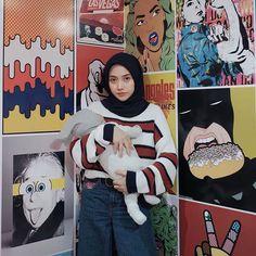 Hijab Casual, Hijab Chic, Hijab Outfit, Hijab Fashion, Women's Fashion, Hijabs, Muslim, Streetwear, Outfit Ideas