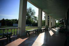 a REAL porch...Carnton Plantation, Franklin, Tennessee