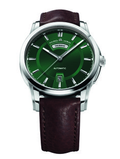Meet the Pontos Day/Date collection. #mauricelacroix #watches #baselworld2014