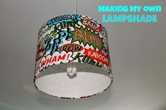 Knitty Mummy: Making my own lampshade Home Crafts, Sewing Crafts, Crafty, How To Make, Diy Crafts