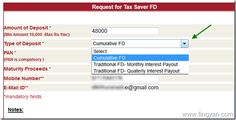 How To Create Tax Saver Fixed Deposit Online?