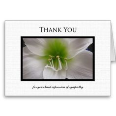 16 Best Thank You Card For Condolences Images On Pinterest