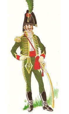 Tropas españolas del Marqués de La Romana en Dinamarca 1807-08