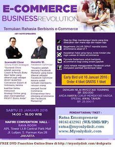 Peluang Bisnis eCommerce 2016: Seminar E-commerce Business Revolution