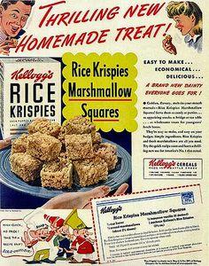 Rice Krispies vintage ad.