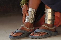 India | Anklets worn by a Thura woman | © Deepek Krishna Chaturvedi