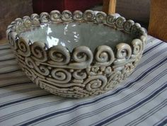Cool coiled bowl