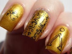 Plus10Kapow: Stargate Nails: False Gods