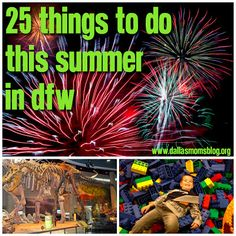 Top 25 Things to do This Summer in Dallas-Ft. Worth! The #LEGOLAND Discovery Center and SEA LIFE #Aquarium in #GrapevineTX made the list!