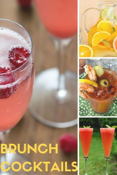 10 Must-Try Brunch Cocktail Recipes /// Pick your poison—Bloody Mary, Mimosa, Bellini, Screwdriver... we've got 'em all covered with this list of 10 brunch cocktail recipes to try ASAP.