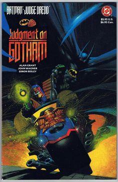 Batman Judge Dredd Judgment On Gotham DC TPB GN Comic Book