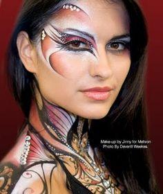 <3 Makeup Face Art Masks