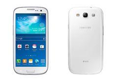1st smart phone in my hand. samsung s3