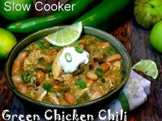 Slow+Cooker+Green+Chicken+Chili