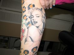 Great Marilyn Monroe Tattoo