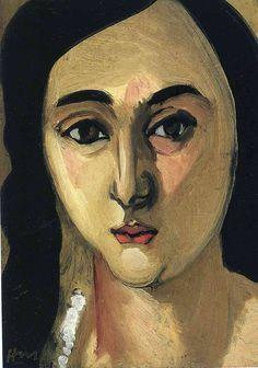 Henri Matisse — Head of Lorette, 1917, Henri MatisseSize:...