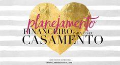 Planejamento Financeiro para o seu Casamento {Planilha para Download}