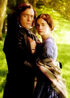 Jane Eyre, 2006. Toby Stephens and Ruth Wilson. By far my favorite version of Jane Eyre.