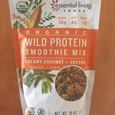 Trying coconut green smoothie mix today . Sometimes costco surprises me with great stuff . Like this wild protein smoothie mix. It's a great source of vegan protein with16g of protein in one serving . After a weekend of attending two parties this is much needed on a Monday morning.  #smoothie #smoothies #breakfast #vegan #veganfoodshare #veganism #vegansofig #vegetarian #greens  #antioxidants #nutrition #healthy #plantbased #plantstrong #plantpowered #foodisfuel #eatright #eatclean…