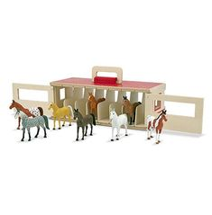 Take-Along Show-Horse Stable