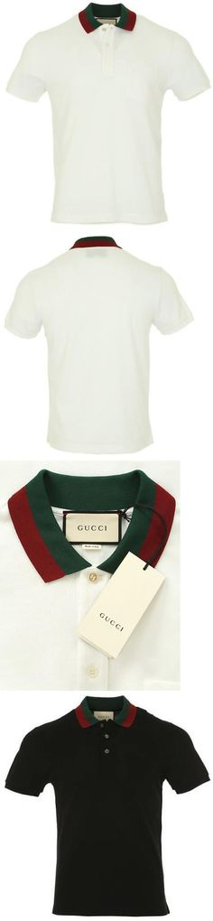 08dab447f Casual Shirts 57990: $89.69 !!! Auth.New Original Gucci Men Herren T-Shirt  Black White -> BUY IT NOW ONLY: $89.69 on eBay!
