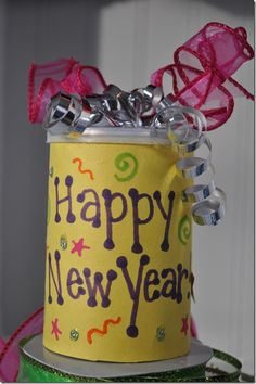 New Year's Eve craft for kids: Noise Makers