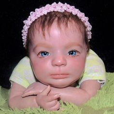 Reborn doll Baby Sydney More Reborn baby pics at https://www.facebook.com/SecondStarToTheRightNursery