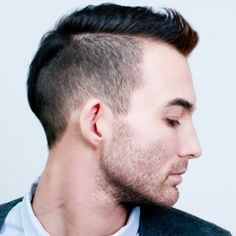 David Beckham, the trendsetter for hairstyles for men, has been rocking the undercut hairstyle - men version. With shaved sides, hair can be cut into a mohawk with hair continuing all the way down ... Get the hairstyle!
