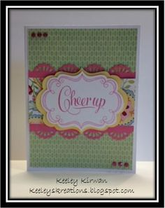 Keeley's Kreations: Close To My Heart's Roxybonds Scrappers Team Blog Hop Featuring Chantilly!!