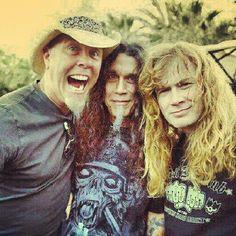 3 thrash metal kings