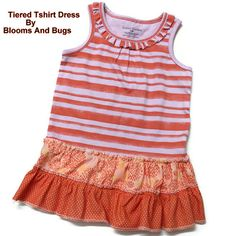 Do It Yourself: Tiered T-Shirt Dress