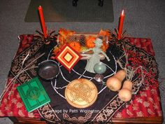 Mabon is a day to celebrate the second harvest and the balance between dark and light. Here are some ideas for dressing up your altar for your Mabon celebrations.