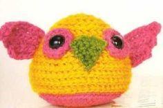 "Golden Owl amigurumi ~ Much cuter than the ""Golden Snitch"", hee hee!"