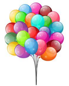 Воздушные шары PNG Clipart изображения