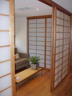 C mo hacer una puerta japonesa de papel casa ideas - Puertas shoji ...