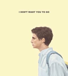 Don't leave. CMBYN
