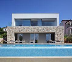 House on Krk Island / DVA Arhitekta. Location: Island of Krk, Croatia