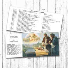 LDS Sunday School Curriculum Bookmark