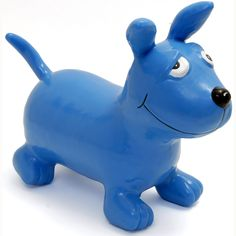 Blue Dog Happy Hopperz - ideal for energetic 2 year olds