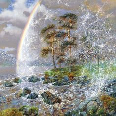 Сияющий мир Красоты и Нежности. Современный живописец Александр Маранов.   Наслаждение творчеством