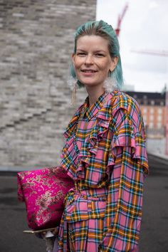 Spotting style on the streets at Copenhagen Fashion Week SS20 | Sleek Magazine