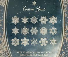 Over 500 brushes and latest free Christmas brushes are best for holiday gift wrappers, pendant styles, snowflakes for winter, Christmas balls and trees etc.